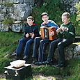 Inishmore Boy Buskers