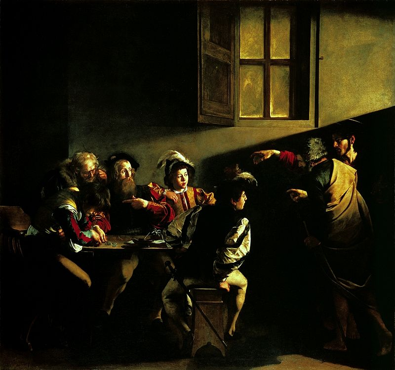 800px-Caravaggio_-_La_vocazione_di_San_Matteo
